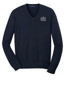 Mens Port Authority V-Neck Sweater
