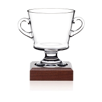 Awards Nantucket Cup with Wood Base