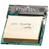 Atrium™ Glass Message Pad Holder