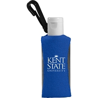 1-oz. Custom Label Sanitizer w/ Sleeve