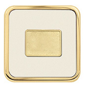 Coasters   Brass Square Coaster
