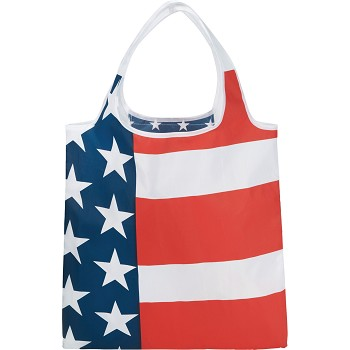 National Flag Foldable Tote